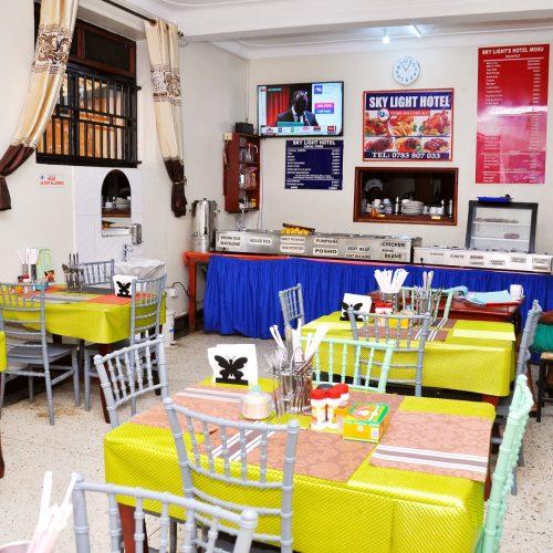 Organised Dining Room